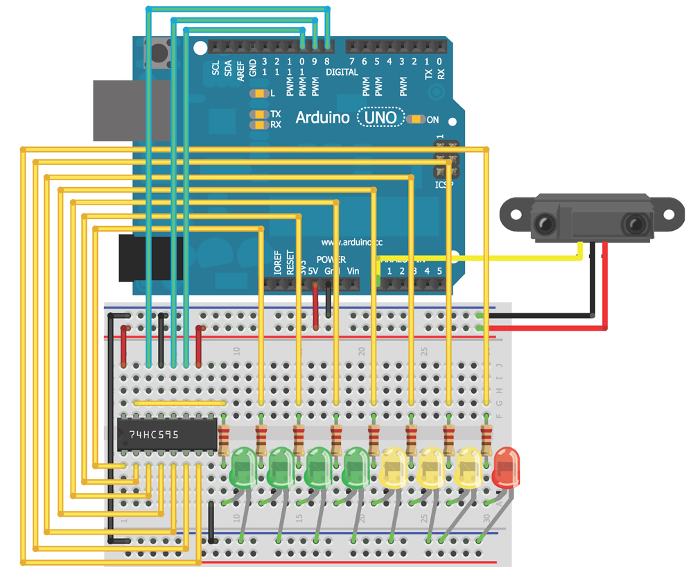 Chapter 7 Exploring Arduino Port Wiring Diagram Figure