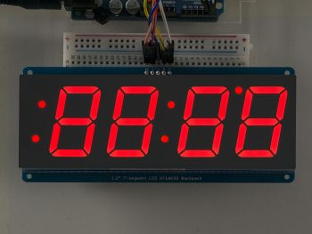 4-Digit 7-Segment I2C Display