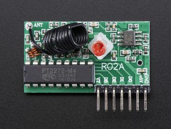 RF Receiver (315MHz Momentary Type)